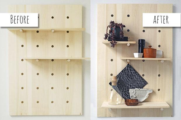 11 Easy DIY Shelves to Maximize a Small Spa