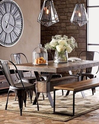 French Bistro Chair Meets Modern, I like this look for the dining .