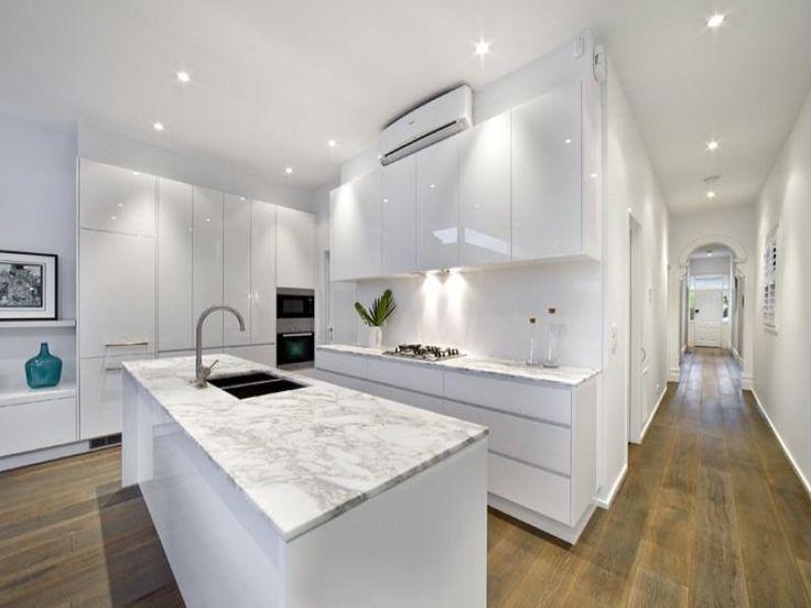 Kitchen design ideas Modern galley kitchen design using .