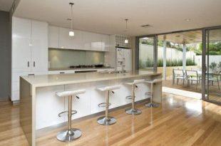 Floorboards Modern Galley Kitchen Design - Kitchen | Kitchen .