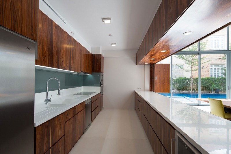 Brilliant Modern Galley Kitchen - Creative Design Structur