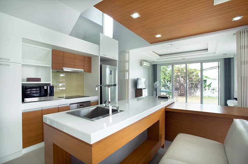 27 Stylish Modern Galley Kitchens (Design Ideas) - Designing Id