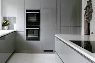 Top 50 Best Grey Kitchen Ideas - Refined Interior Designs | Modern .