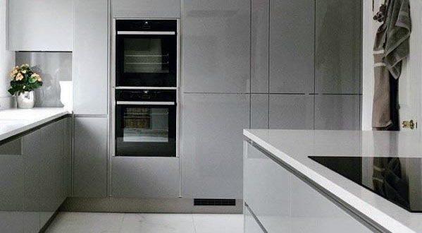 Top 50 Best Grey Kitchen Ideas - Refined Interior Designs   Modern .
