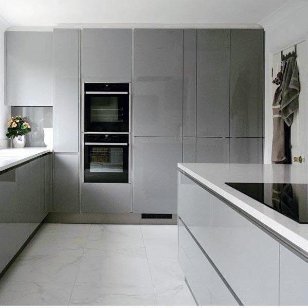 Modern Grey Kitchens Best Designs