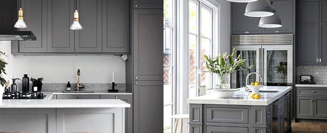 Top 50 Best Grey Kitchen Ideas - Refined Interior Desig