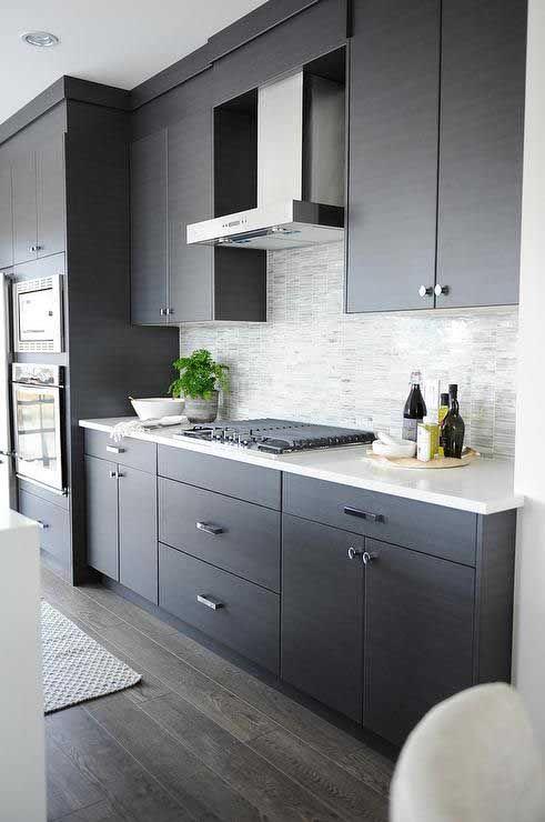 25 Best Gray Kitchen Cabinet Ideas and Designs | Modern grey .
