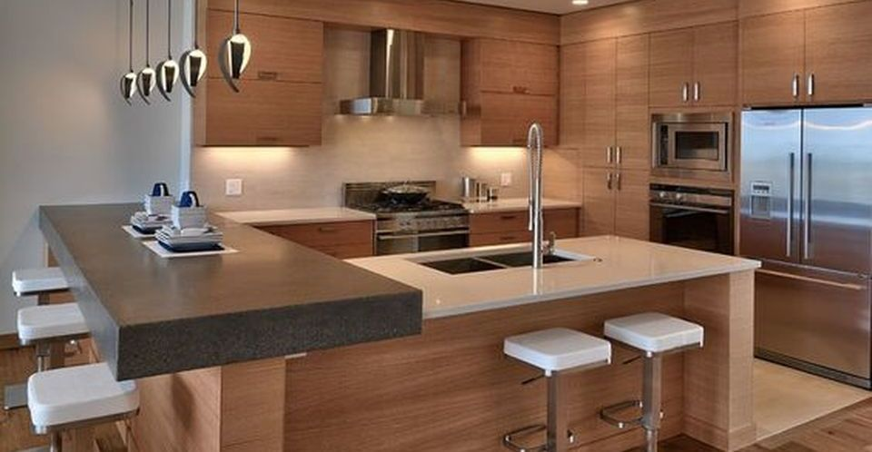 Best shipping container house design ideas 19 | Modern kitchen set .