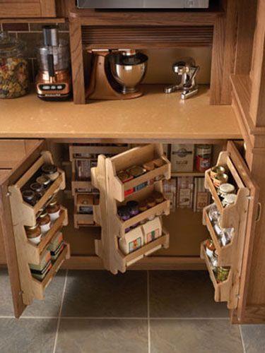 Modern Kitchen Storage Ideas, Spices Storage Solutions | Diy .