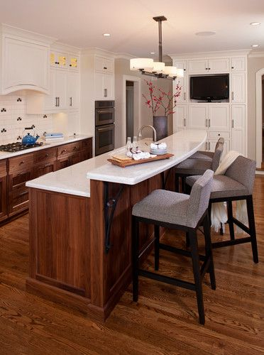 Kitchen Island Breakfast Bar Counter Design, Pictures, Remodel .
