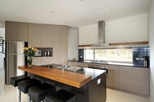 modern kitchen island with breakfast bar - Google Search | Modern .