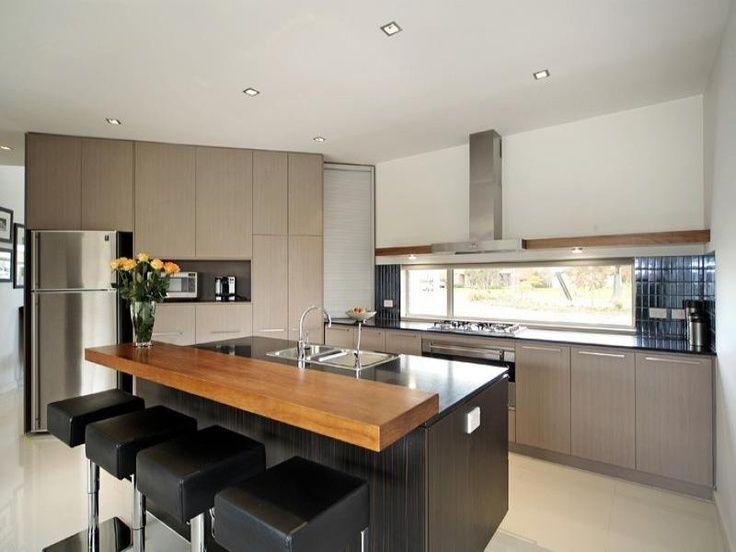 Modern Kitchen Island Breakfast Bar