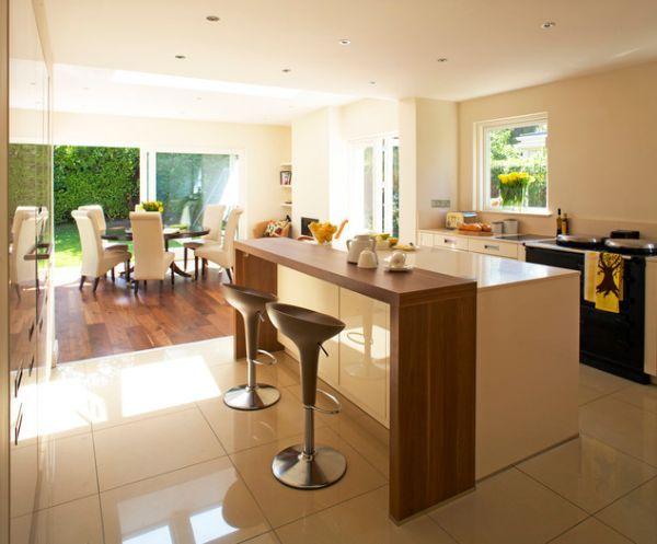How To Design A Contemporary Breakfast Kitchen | Kitchen island .
