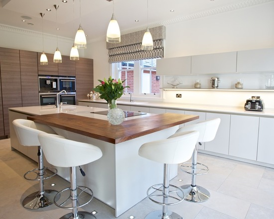 New Breakfast Bar Idea Kitchen Island Picture From H G T V .