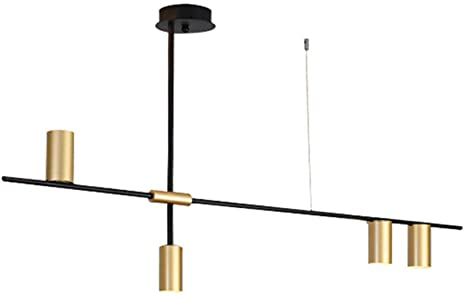 BOKT Contemporary Chandelier Linea 4-Light Pendant Lighting for .