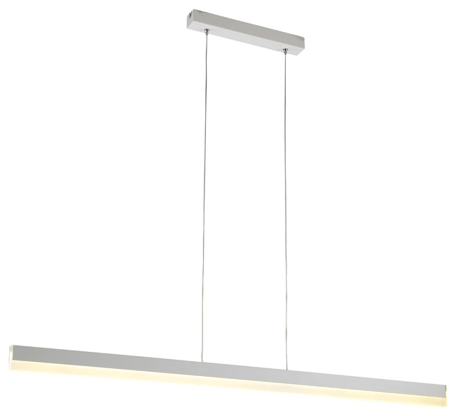 Contemporary Modern Linear Pendant LED Office Light Fixture .