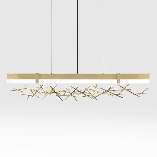 Top 10 Modern Chandeliers | Linear pendant lighting, Linear light .