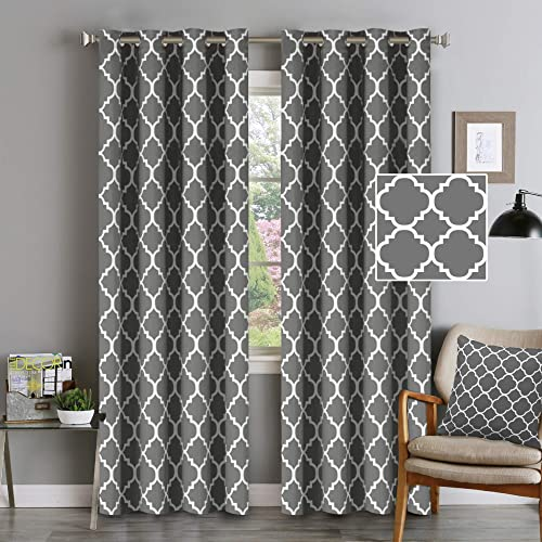 Modern Trendy Curtains for Living Room: Amazon.c