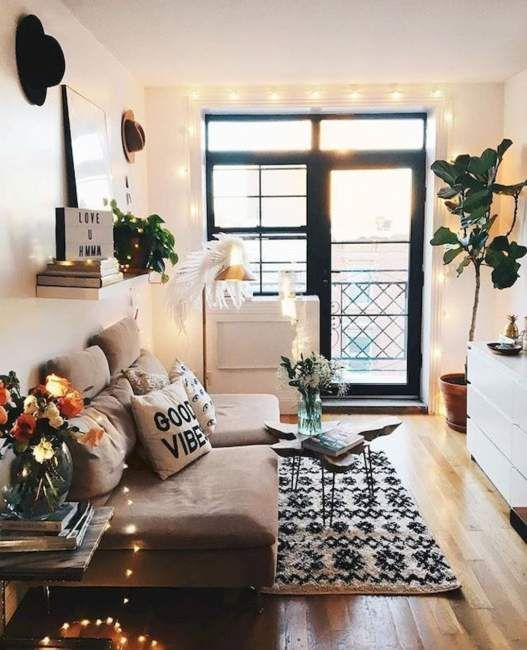 25+ Cozy Apartment Decorating on Budget for Small Apartment Design .