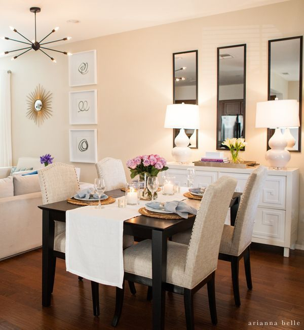 20 Small Dining Room Ideas on a Budget | Small apartment livi