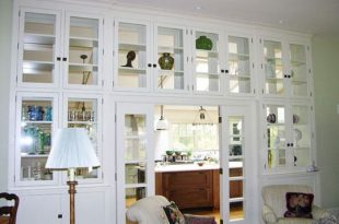 Living Room Cabinets with Glass Doors Design | Living room .