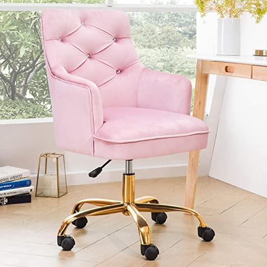 Modern Pink Office Chair