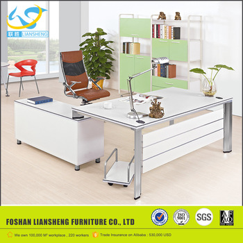 New design office reading table design, modern office table office .