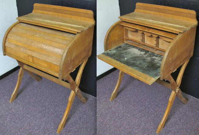 Restoring Roll Top Desks For New Uses In Modern Settin