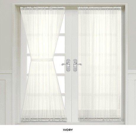 Modern Sheer Door Panel Curtains