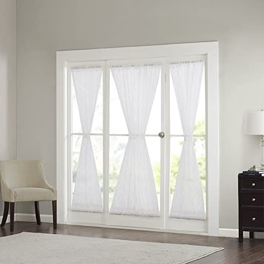 Amazon.com: Sheer Curtains for Bedroom, Modern Contemporary .