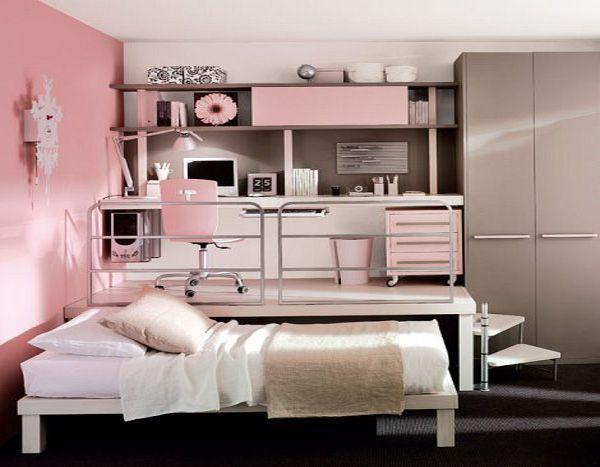 Small Bedroom Design for Teenage Girls in Modern Design | マスター .