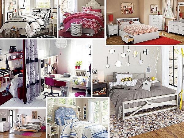 Teenage Girls Bedrooms & Bedding Ide