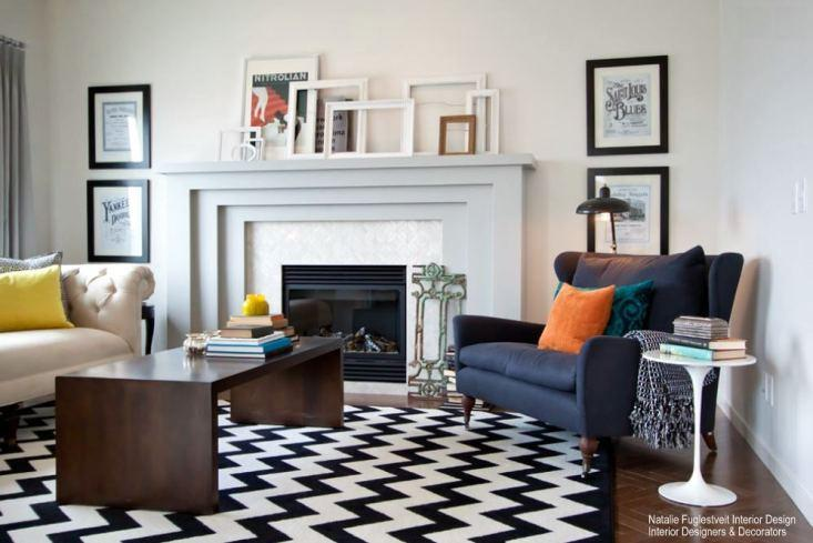 How To Use Bold Graphic Modern Area Rugs In Your Home - NW Rugs .