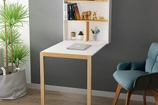 Amazon.com: HOME BI Wall Mounted Table Fold Out Convertible Desk .