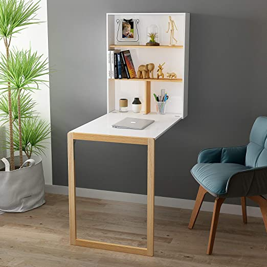 Modern Wall Mounted Fold Out Desk