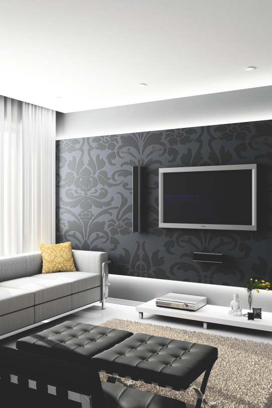 Modern Wallpaper Designs For Living Room