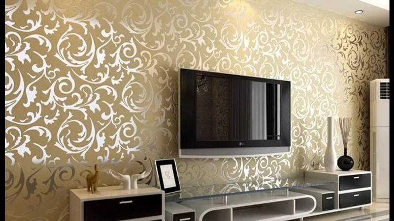 Modern Wallpaper Ideas For Your Living Room | Home Decor Ide