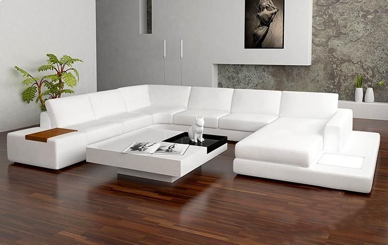 sectional contemporary sofa | Tosh Furniture Modern Bonded Leather .