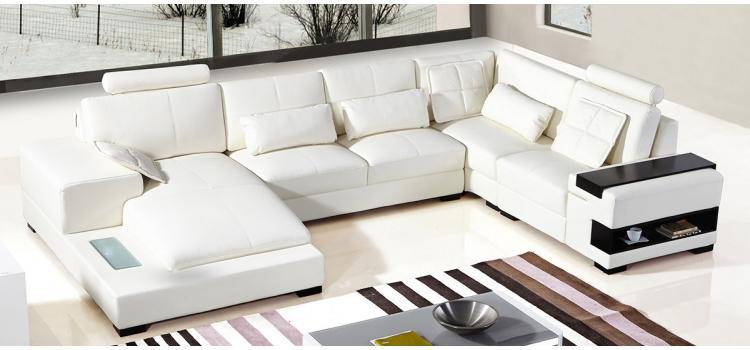 DreamFurniture.com - Divani Casa Diamond Modern Bonded White .