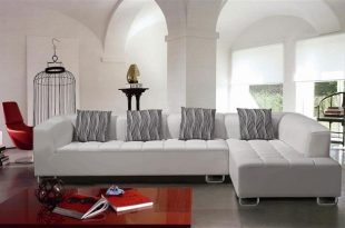 Modern White Sectional Sofa Set TOS-LF-22