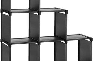 Amazon.com: SONGMICS 6 Cube Storage Shelves, Modular Bookshelf Toy .