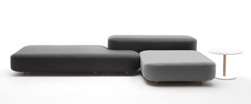 Common Modular Sofa System by Naoto Fukasawa for Viccarbe | Daily Ic