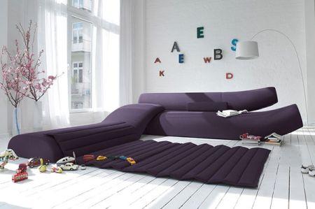 The impressive Lava Modular sofa syst