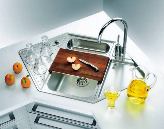 ⫸25 Cool Corner Kitchen Sink Designs [Best Ideas With Photos .