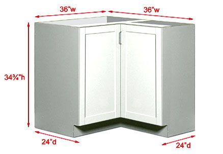 Kitchen Corner Cabinet Dimensions | Kitchen Cabinet Sizes And .