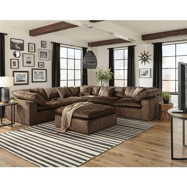 Plush Modular Sectional (Mocha) Jackson Furniture | Furniture Ca