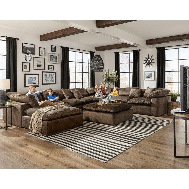 Plush Modular Sectional Set (Mocha) Jackson Furniture, 1 Reviews .