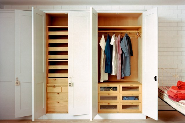 Modular Wardrobe Systems With Doors