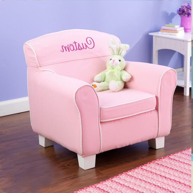 Monogrammed Toddler Chair - Furnitur & Inspirati