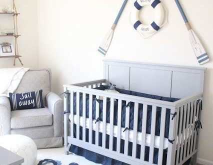 Baby #2's Nautical Nursery | Nursery room boy, Baby room themes .